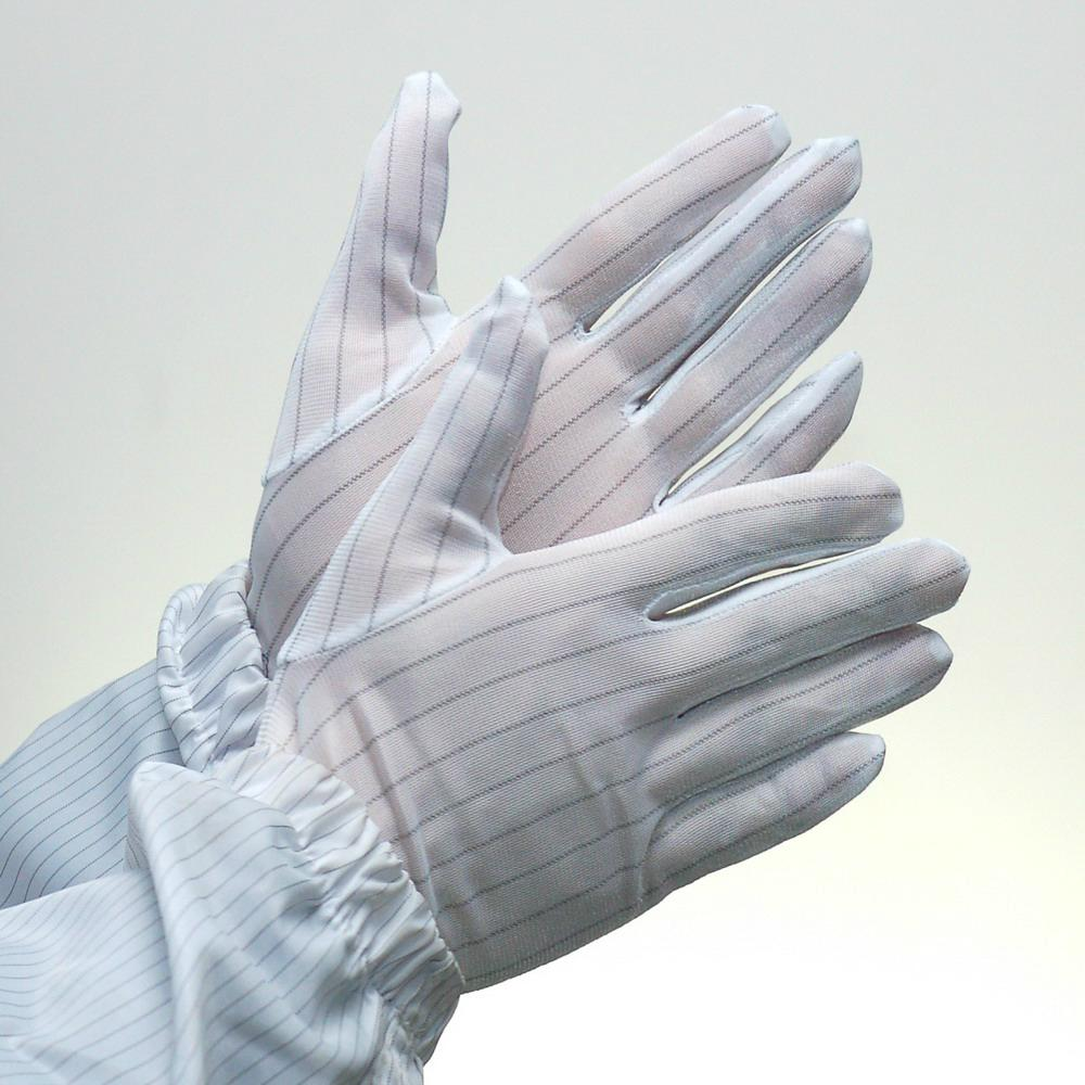 Lint Free Clean Room White Esd Antistatic Gloves  5