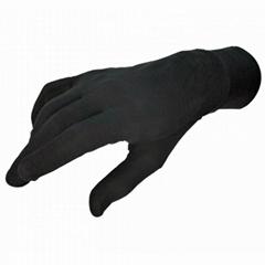 摩托车跑步保暖手套内衬真丝手套