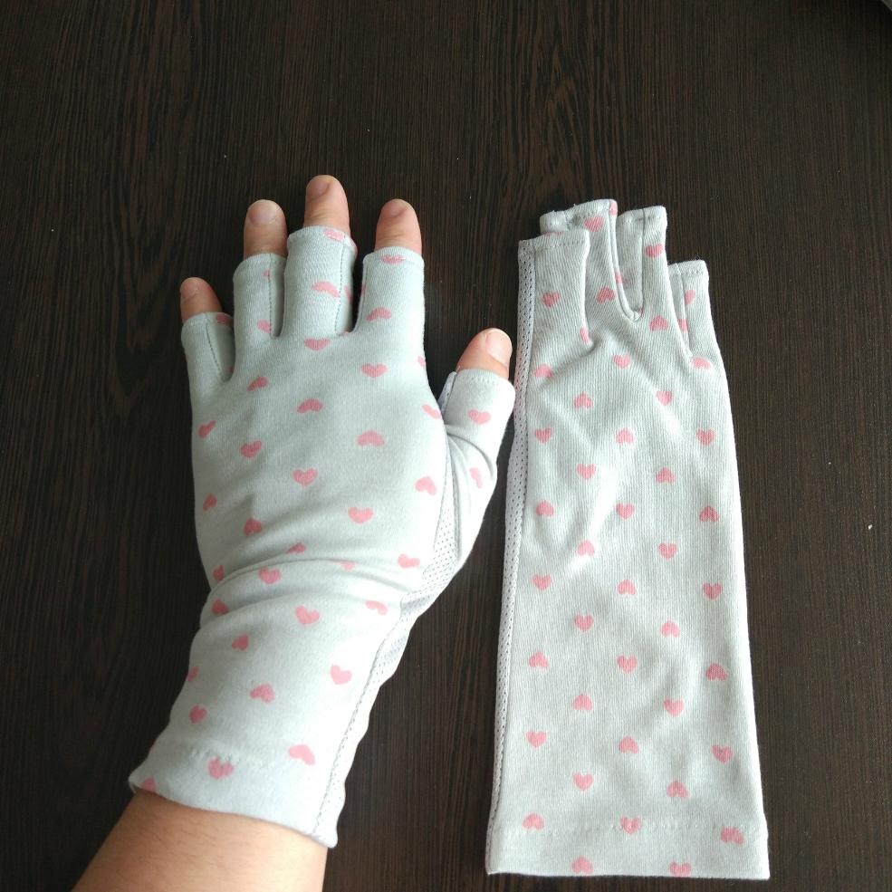 夏日女式防晒防紫外線UV手套 1
