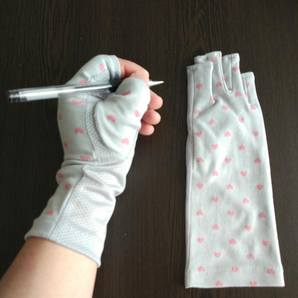 夏日女式防晒防紫外線UV手套 2