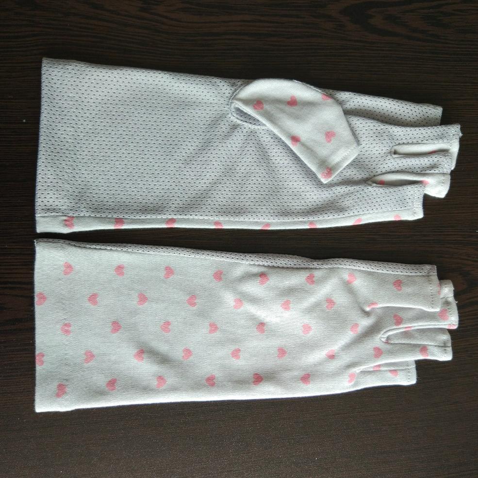 夏日女式防晒防紫外線UV手套 4