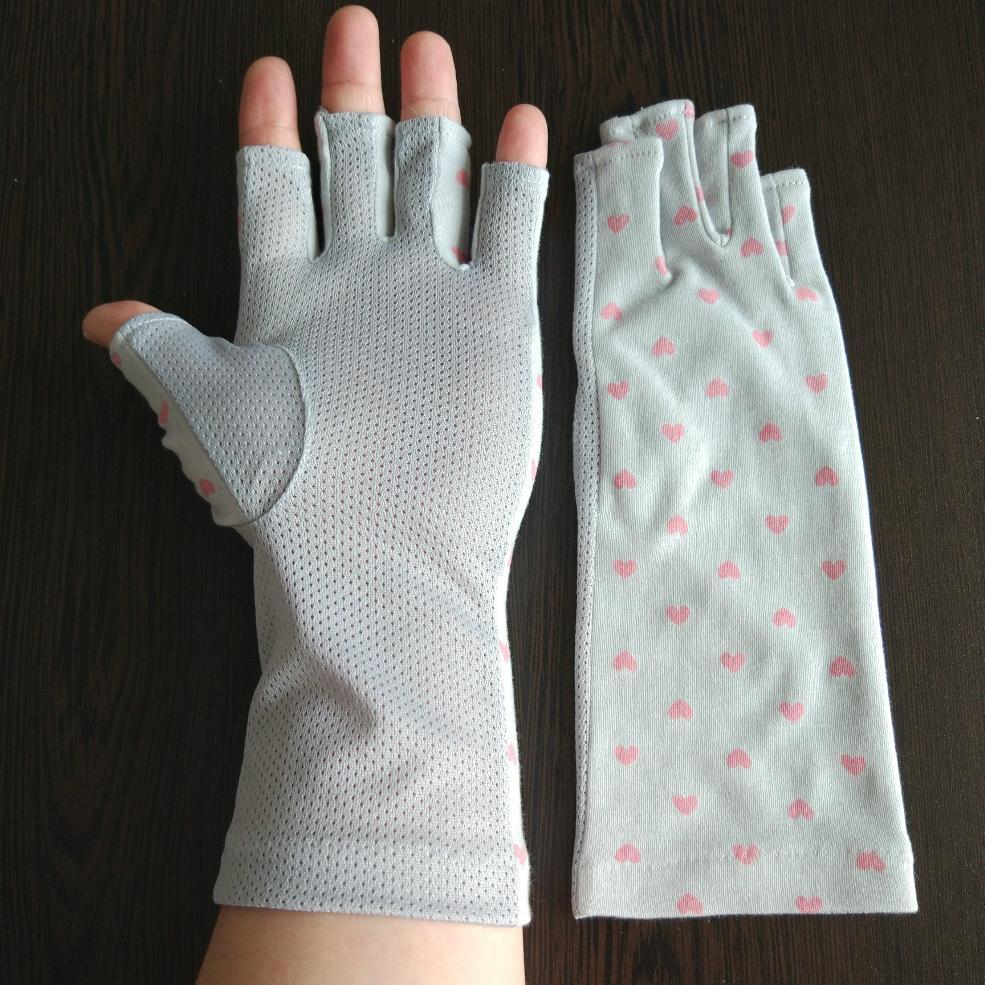 夏日女式防晒防紫外線UV手套 5