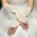 長款緞子婚禮晚宴新娘伴娘手套 3