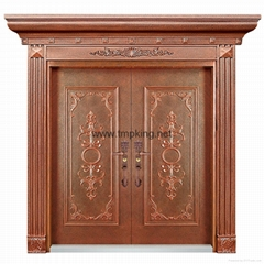 T001 copper door