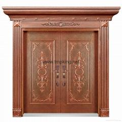 T001 copper door