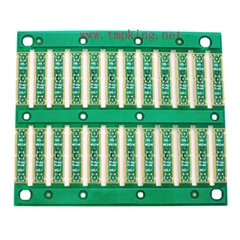 0.4 thickness double side gold PCB board