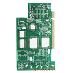 Four-layer gold finger PCB board