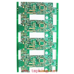 Six-layer immersion gold PCB board