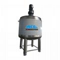 liquid mixing tank with agitator chemical blending tank agitator tank jacketed m