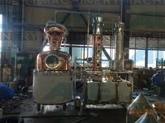 Alcohol Distillation Modular Moonshine Pot still reflux Column for Whisky Rum Gi