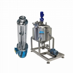 Stainless steel magnetic mixing tank with agitator
