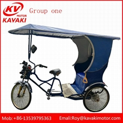 China Factory Electric Passenger Tricycle