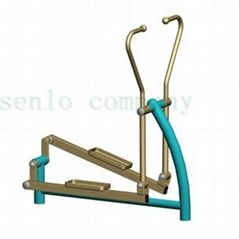 Outdoor fitness equipment elliptical cross trainer