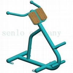 厂家直销户外小区公园健身器材 背肌训练器