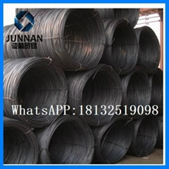 6mm gavanized  Heibei Q235 wire rod coil