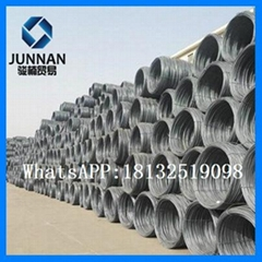 8mm hot rolled  wire rod for nail making