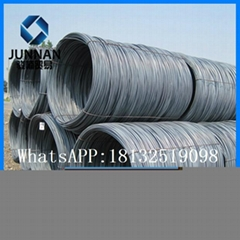 Q235 mild carbon gavanized  wire rod 6.5mm