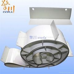PU Conveyor Belt White Food Grade Conveyor Belt and Stop Punching