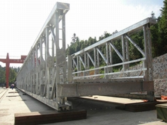 Bailey bridge products diytrade china manufacturers for Prefabricated trusses