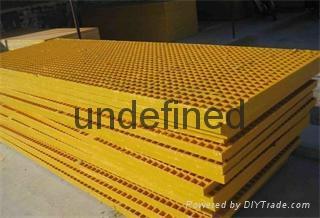 齒型防滑踏步板適用於石油工作平台 1