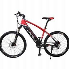 26 Inches 8 Speed Derailleur Disc Brake Touring Pedal Electric Mountain Bikes