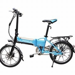 18 Inches 240W 36V 10AH Fashion Popular Touring Electric Folding Bikes