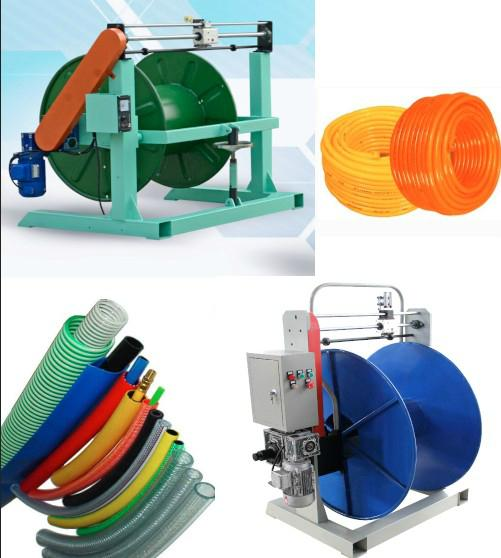 New rubber hose and  cable and  rope take up machine coiling machine 2