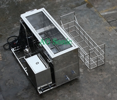Heat exchanger parts cleaning system Ultrasonic cleaner