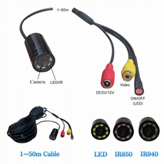 long cable waterproof underwater fishing camera FISH FINDER