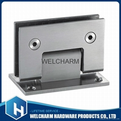 Stainless steel bathroom clamp
