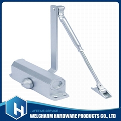 Adjust Hydraulic two section adjustable speed electric door closer