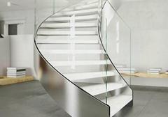 双钢卷板弧形梯-YD-HT20