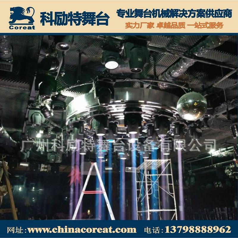 酒吧舞台智能旋转灯架 2