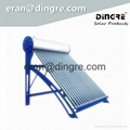 Solar water heater manufacturer China solar geyser DR60 1