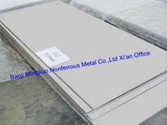 Grade 6 titanium and titanium alloy sheet