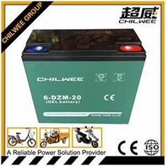 Rechargeable Lead Acid Electric Vehicle Battery