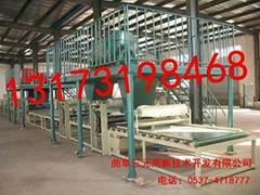 墙体聚氨酯复合保温板生产线