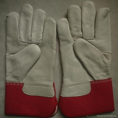 cow grain leather bus drivers driving gloves safety and protective gloves