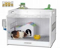 DIY Eco-baord Guinea pig house/villa/cage