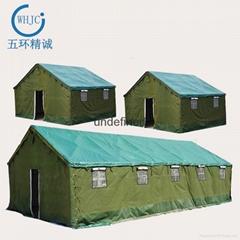 戶外救災工地施工  施工棉帳篷