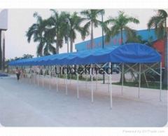 推拉篷遮阳雨棚夜市大排档伸缩篷移动帐篷