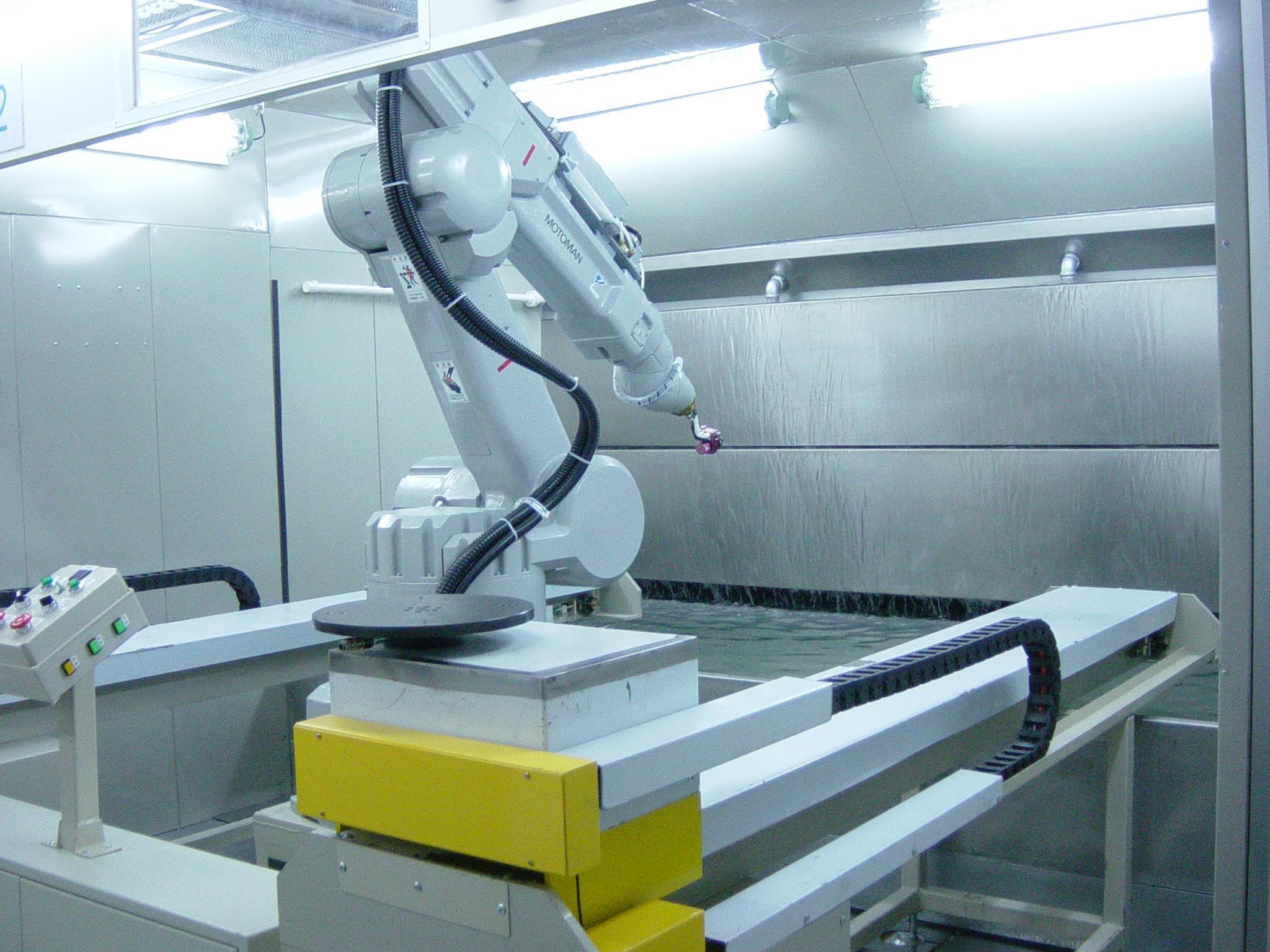 机器人喷涂设备