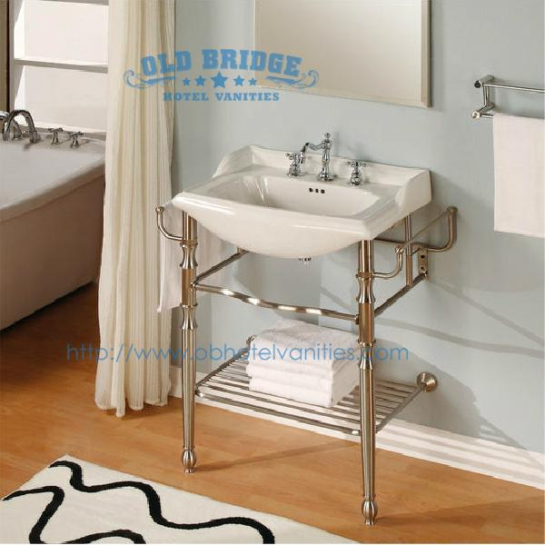 High Quality Cheap Bathroom Vanities With Metal Legs 1