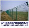 河北现货库存1.8*3.0m双边丝护栏网 5