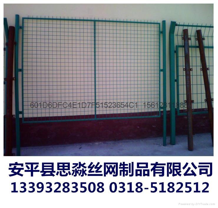 工厂现货供应高质量1.8*3.0m框架护栏网 1