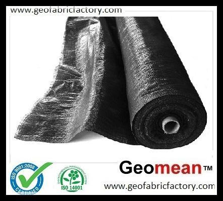 240GSM PP Woven Geotextile Slit Film 1