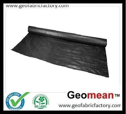 400GSM PP Woven Geotextile Slit Film 1