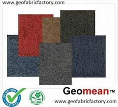 100GSM Staple PetPP Needled Punched Non Woven Geotextile Fabric