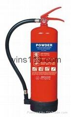 ABC Chemical Powder Fire