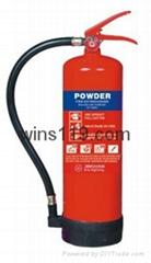 dry powder fire extingui